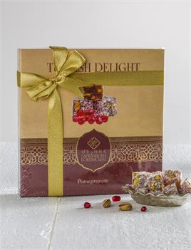 430 GR.TURKISH DELIGHT WITH PISTACHIO AND POMEGRANATE