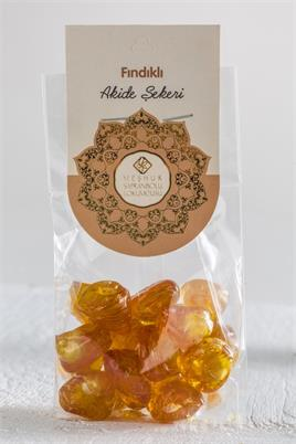 CANDY WITH HAZELNUT 125 GR