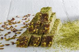 SPECIAL DELIGHT WITH ROASTED PISTACHIO COVERED POWDERED PISTACHIO KG