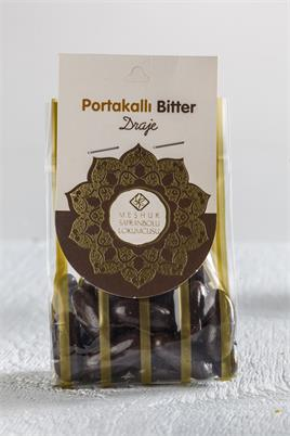 DRAGEE WITH ORANGE AND BITTER CHOCOLATE 100 GR