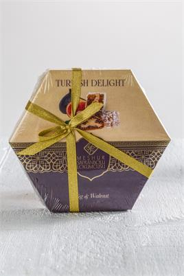 210 GR.TURKISH DELIGHT WITH WALNUT AND FIG