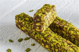SPECIAL DELIGHT WITH PISTACHIO COVERED SLIVERED PISTACHIO KG