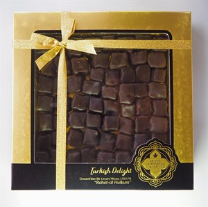 TURKISH DELIGHT WITH ROASTED PISTACHIO AND CHOCOLATE 500 GR
