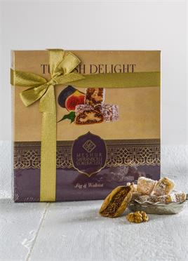 430 GR.TURKISH DELIGHT WITH WALNUT AND FIG