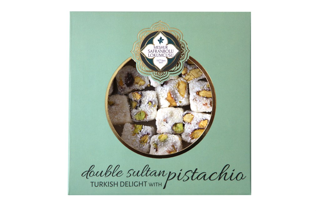 DOUBLE SULTAN DELIGHT WITH PISTACHIO 200 GR