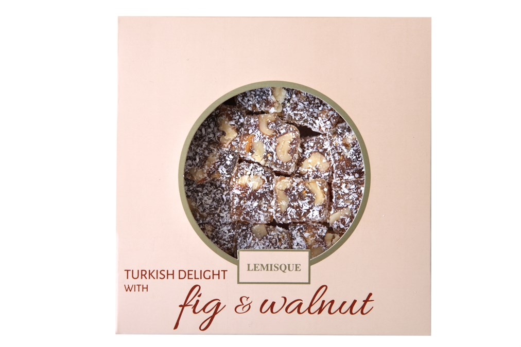 TURKISH DELIGHT WITH WALNUT AND FIG 250 GR