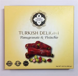 FINGER DELIGHT WITH PISTACHIO AND POMEGRANATE FLAVORED 300 GR